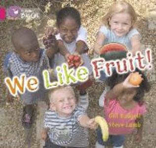 We Like Fruit Workbook - cover