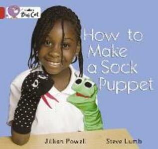 How to Make a Sock Puppet? Workbook - cover