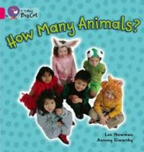 How Many Animals? Workbook - cover