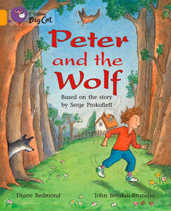 Peter and the Wolf: Band 09/Gold - Diane Redmond - cover