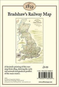 Bradshaw's Railway Map 1839: Wall Map - George Bradshaw - cover