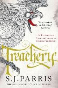 Treachery - S. J. Parris - cover