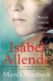 Maya's Notebook - Isabel Allende - cover