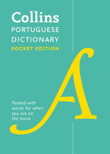Collins Portuguese Pocket Dictionary: The Perfect Portable Dictionary - Collins Dictionaries - cover