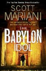 The Babylon Idol - Scott Mariani - cover