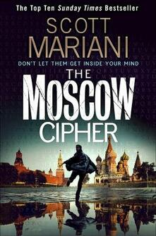 The Moscow Cipher - Scott Mariani - cover