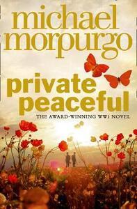 Private Peaceful - Michael Morpurgo - cover