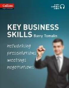 Key Business Skills: B1-C1 - Barry Tomalin - cover