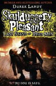 Last Stand of Dead Men - Derek Landy - cover