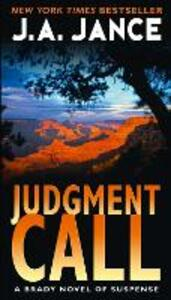 Judgment Call - J. A. Jance - cover