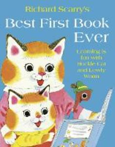 Best First Book Ever - Richard Scarry - cover