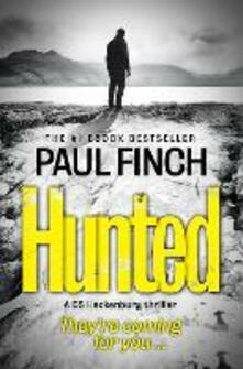 Hunted - Paul Finch - cover