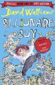 Billionaire Boy - David Walliams - cover