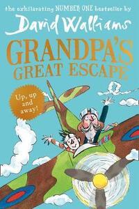 Grandpa's Great Escape - David Walliams - cover