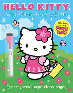 Wipe Clean Activity Book - cover