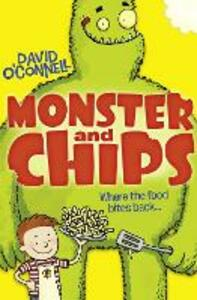 Monster and Chips - David O'Connell - cover