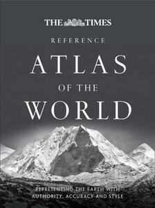 The Times Reference Atlas of the World - Times Atlases - cover