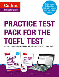 Practice Test Pack for the TOEFL Test - cover