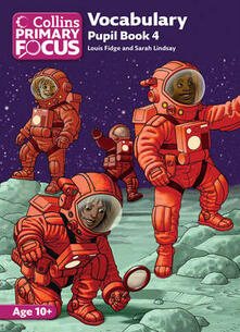 Vocabulary: Pupil Book 4 - Louis Fidge,Sarah Lindsey - cover