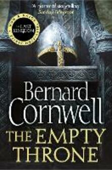 The Empty Throne - Bernard Cornwell - cover