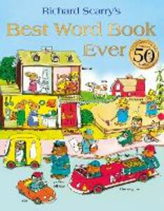 Best Word Book Ever - Richard Scarry - cover