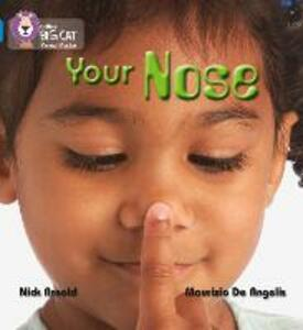 YOUR NOSE: Band 04/Blue - Nick Arnold - cover