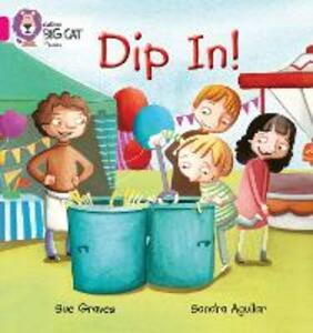 DIP IN: Band 01a/Pink a - Sue Graves - cover
