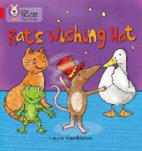 RAT'S WISHING HAT: Band 02b/Red B - Laura Hambleton - cover