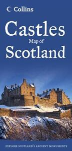Castles Map of Scotland - Collins Maps - cover