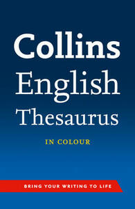 Collins English Thesaurus - Collins Dictionaries - cover