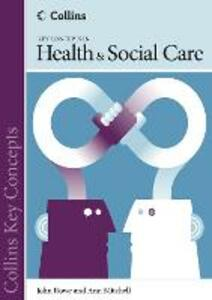 Health and Social Care - John Rowe,Ann Mitchell - cover