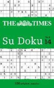 The Times Su Doku Book 14: 150 Challenging Puzzles from the Times - The Times Mind Games - cover