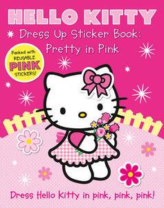 Dress Up Sticker Book: Pretty in Pink - cover