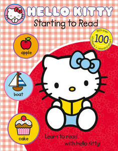 Learn with Hello Kitty: Starting to Read - cover