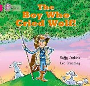 The Boy who Cried Wolf: Band 01b/Pink B - Saffy Jenkins - cover