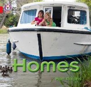 Homes: Band 02a/Red a - Matt Ralphs - cover