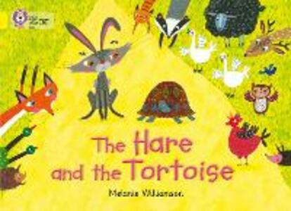 The Hare and the Tortoise: Band 03/Yellow - Melanie Williamson - cover