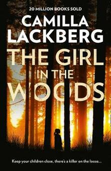 The Girl in the Woods - Camilla Lackberg - cover