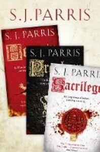 Foto Cover di Giordano Bruno Thriller Series Books 1-3, Ebook inglese di S. J. Parris, edito da HarperCollins Publishers