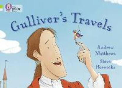 Gulliver's Travels: Band 11 Lime/Band 17 Diamond - Andrew Matthews - cover