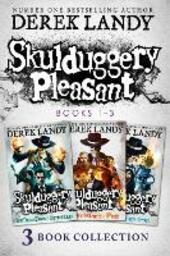 Skulduggery Pleasant, Books 1 - 3