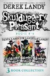 Skulduggery Pleasant, Books 4 - 6
