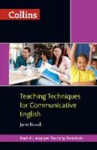 Teaching Techniques for Communicative English - Jane Revell - cover