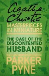 Ebook in inglese The Case of the Discontented Husband Christie, Agatha