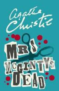 Mrs McGinty's Dead - Agatha Christie - cover