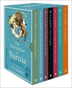 The Chronicles of Narnia box set - C. S. Lewis - cover