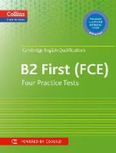 Practice Tests for Cambridge English: First: Fce - Peter Travis - cover