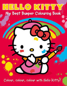 Hello Kitty: My Best Bumper Colouring Book - cover