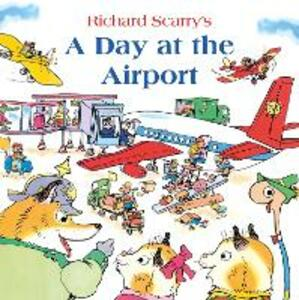 A Day at the Airport - Richard Scarry - cover