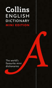 Collins Mini English Dictionary - Collins Dictionaries - cover